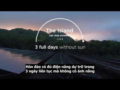 Hòn đảo chỉ sử dụng năng lượng mặt trời