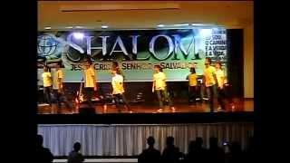Coreografia Healer - Rede de Jovens 09 06 2012