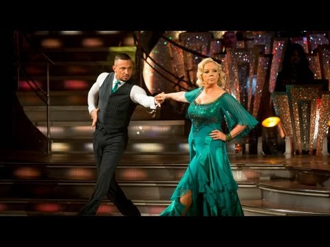 Deborah - http://www.bbc.co.uk/strictly Deborah Meaden and Robin Windsor dance the Tango to 'Money Money Money'.