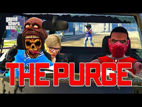 GTA 5 ONLINE - THE PURGE SEASON 3 PART 1