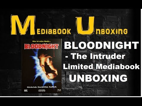 Unboxing Bloodnight Limited Mediabook Cover A