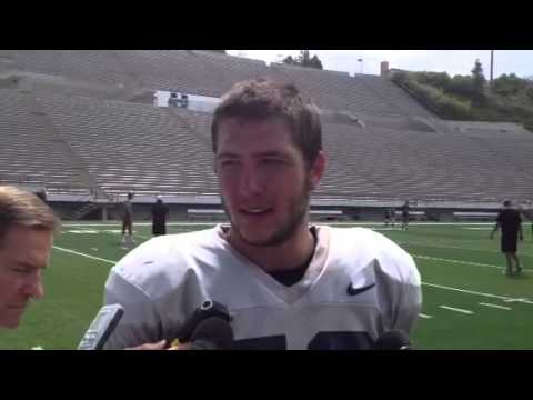 Kyler Fackrell Interview 8/10/2013 video.