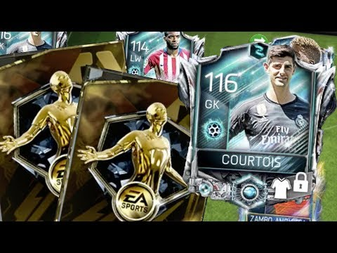 FIFA Mobile Now and Later Master Courtois | More Coin Program Packs! Pre-Season Master Team Gameplay