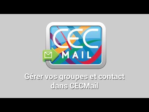 Gérer vos groupes et contacts