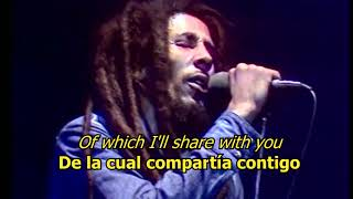 Video No woman no cry - Bob Marley (LYRICS/LETRA) (Reggae) MP3, 3GP, MP4, WEBM, AVI, FLV Juli 2018