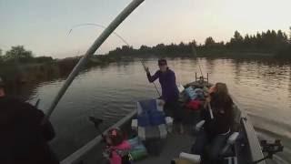 Nehalem Bay Oregon Fall Chinook Fishing.