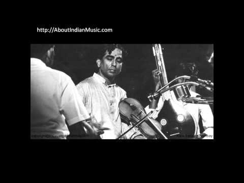 Lalgudi Jayaraman - Mara vairi ramani - Nasikabhushani - Rupakam