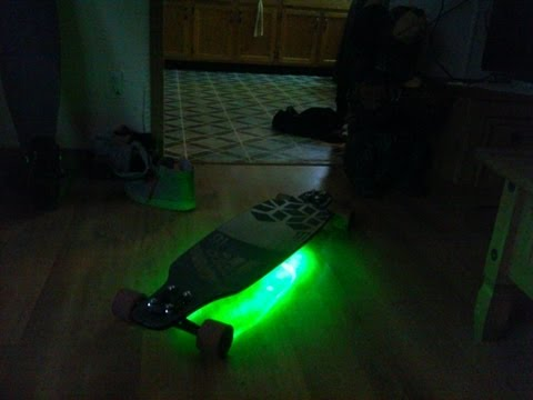 Sector 9 Star9 Custom Longboard, LED ,Paint Job..