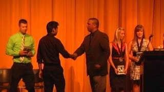 Rochester High School Spring Sports Awards 2012