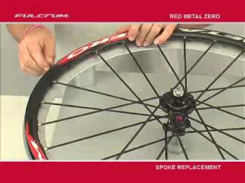 Fulcrum Red Metal Zero Wheels - Spoke replacement
