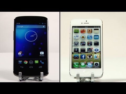 iphone 5 price - Nexus 4 vs iPhone 5: Review of price, release date, specs. Google vs Apple, Jelly Bean 4.2 vs iOS 6, Snapdragon vs A6 chip. We go through all the important f...