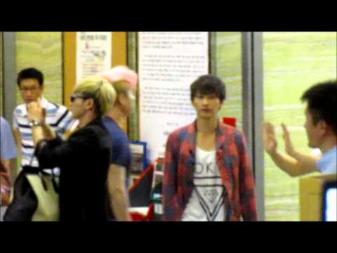 120720 [KISS THE RADIO/KTR] Super Junior waving goodbye T_T