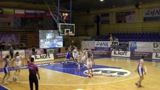Basket 90 Gdynia vs Dynamo Moscow – EEWBL 02.04.17 Kosice
