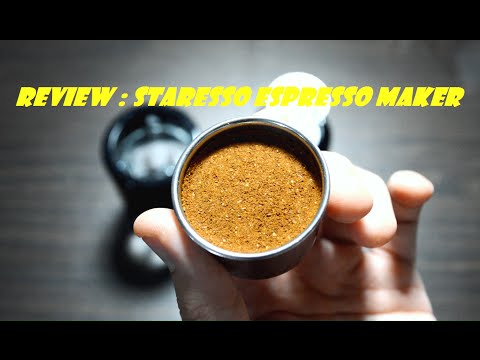 REVIEW : Staresso Espresso Maker
