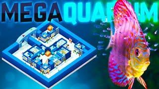 Megaquarium - The Fishkeeping Tycoon Game - Building The Perfect Aquarium - Megaquarium Gameplay
