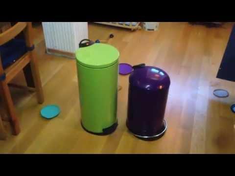 Hailo Abfalleimer Vergleich 0520 vs. 0516 (Vorgänger)