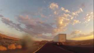 Riding my Bike Las Vegas Sunrise time lapse
