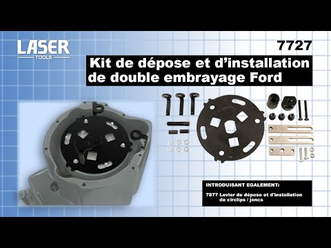 7727 Kit de de´pose et d'installation de double embrayage Ford