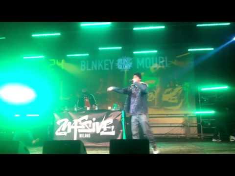 Blnkay vs Mouri @ Run2Glory Massive Milano (Freestyle On The Top) (видео)