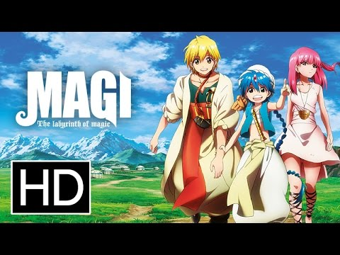 Magi: The Labyrinth of Magic - Official Trailer