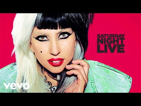Lady Gaga - Born This Way (Live on SNL)