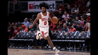 Coby White (29 PTS) Caught Fire From 3PT Against Hawks by Bleacher Report