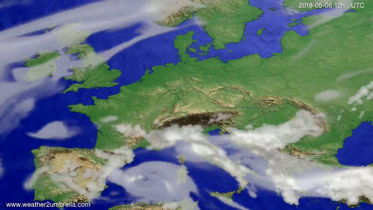 Cloud forecast Europe 2018-05-02