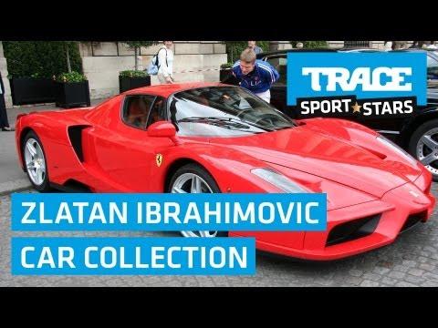 l' incredibile collezione di automobili di zlatan ibrahimovic