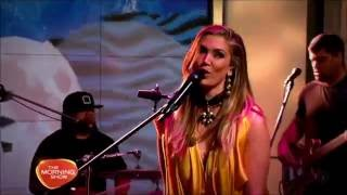 Delta Goodrem - Dear Life / Sitting On Top Of The World (The Morning Show)