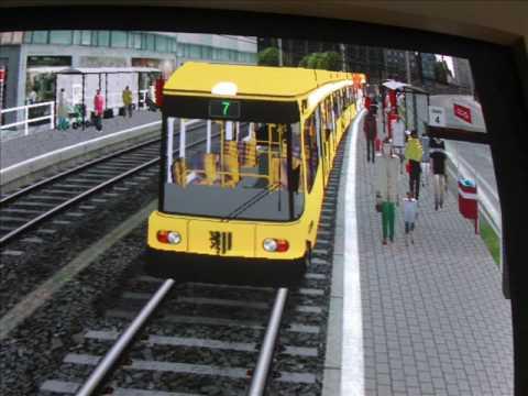 MSTS  straßenbahn NGT8DD