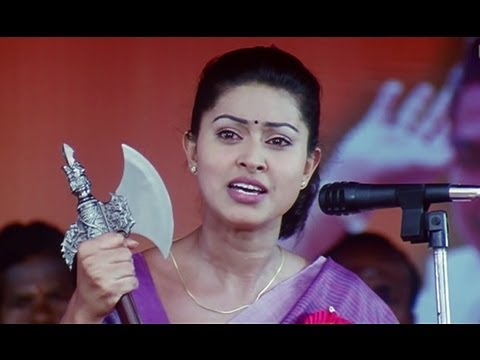 Sneha Kills The Corrupt Minister - Bhavani IPS