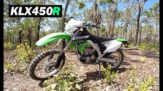 6. Kawasaki KLX450R - Time To Hit The Dirt