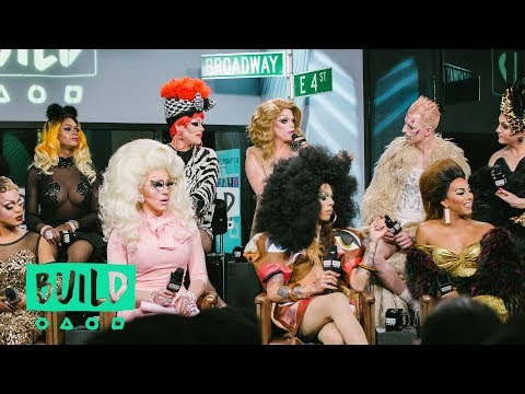 """The Cast Of """"RuPaul's Drag Race All Stars"""" Drops By To Discuss Season 3"""