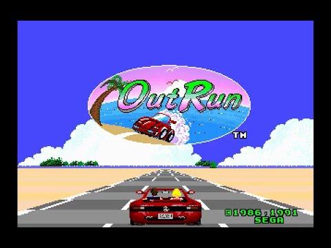 Mega Drive Longplay [151] Outrun
