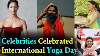 Celebrities On International Yoga Day 2017 | Modi | Balakrishna | Kareena Kapoor | GARAM CHAI