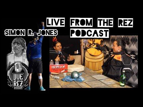 Native Prayer Run and Health  Simon Jones  Live From The Rez Podcast