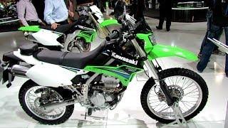 6. 2014 Kawasaki KLX250 Enduro Walkaround - 2013 EICMA Milano Motorcycle Exhibition