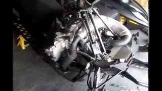 5. GGB exhaust install -  2013 Arctic Cat M800