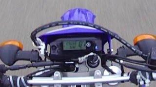 11. Top Speed Run 87 MPH - 2012 Yamaha Dual Sport WR250R