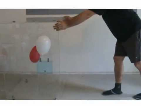 Balloons and acceleration - Science experiment