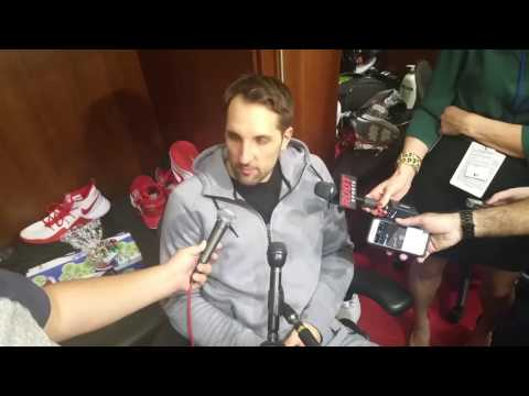 Ryan Anderson after tough loss to Spurs