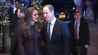 Prince William And Kate Middleton Touchdown In New York