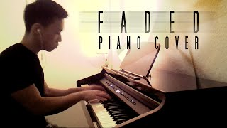 Video Alan Walker - Faded [Fade] (piano cover by Ducci & lyrics) MP3, 3GP, MP4, WEBM, AVI, FLV Juli 2018