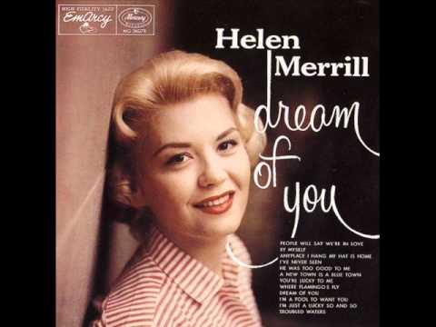 Tekst piosenki Helen Merrill - All I Do Is Dream of You po polsku