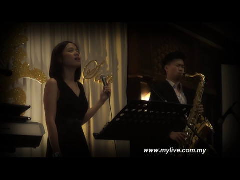 Malaysia Wedding Live Band [Mylive Entertainment] Fly Me To The Moon covered by Eva Heui