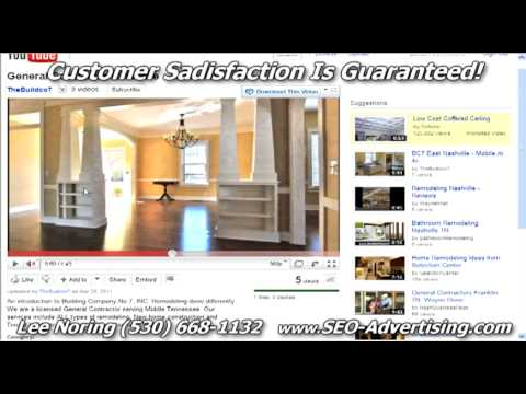 Marketing Review-General Contractor Nashville YouTube Video