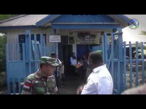 Proses Pembangunan Jalan Trans Papua oleh TNI
