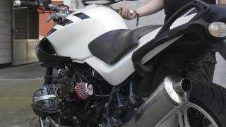 9. BMW R1150R ED 80 sound full exhaust line + air intake