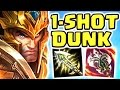 Riot Nightblue3 ! Literally 1v9 Full Ad Crit Jarvan Jungle | The 1 Shot Dunk | Look At This Dude