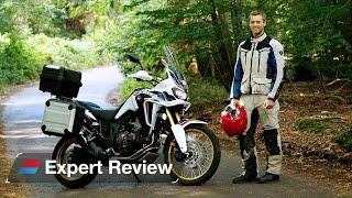 8. 2016 Honda CRF1000L Africa Twin bike review